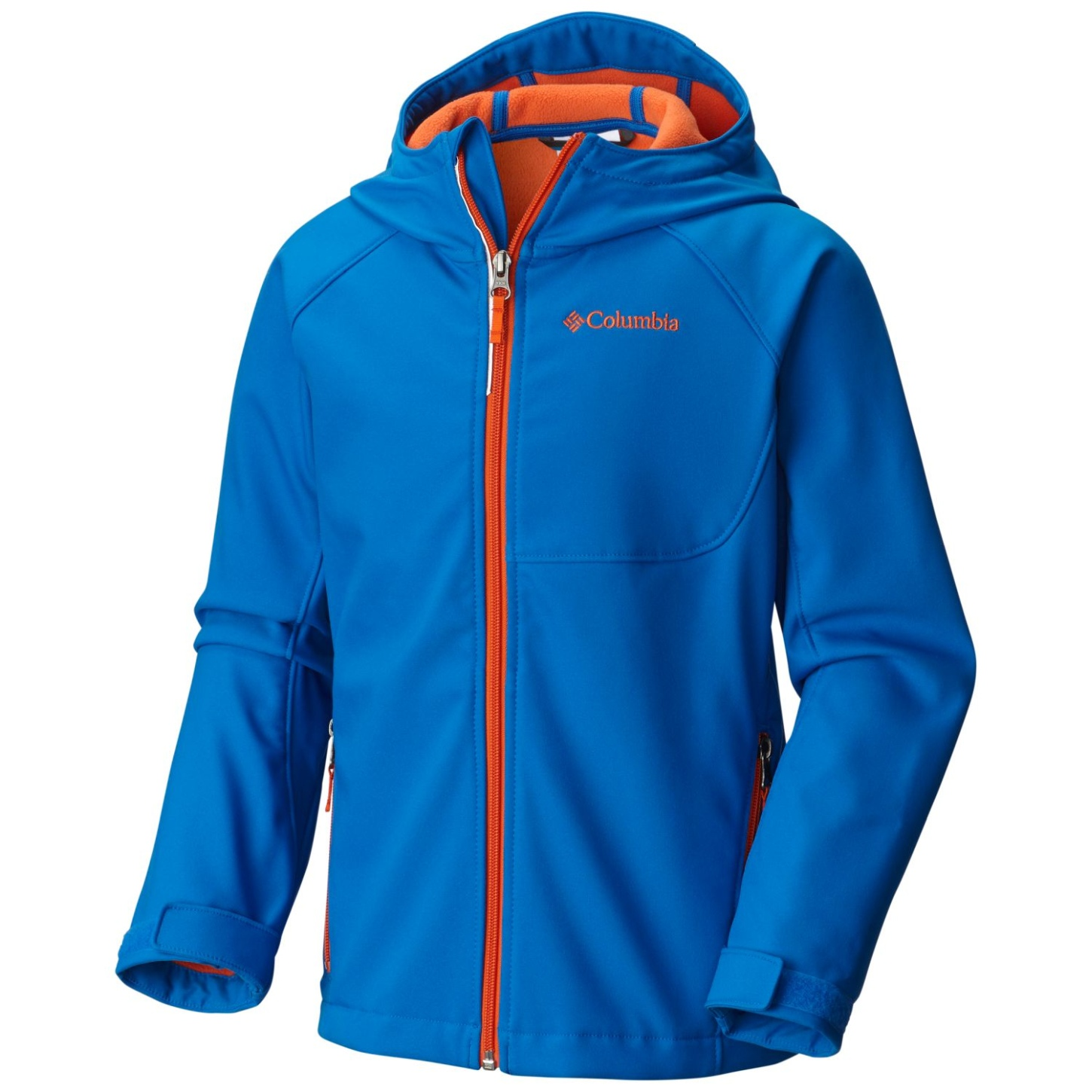 Columbia Boy's Cascade Ridge Softshell Super Blue-30