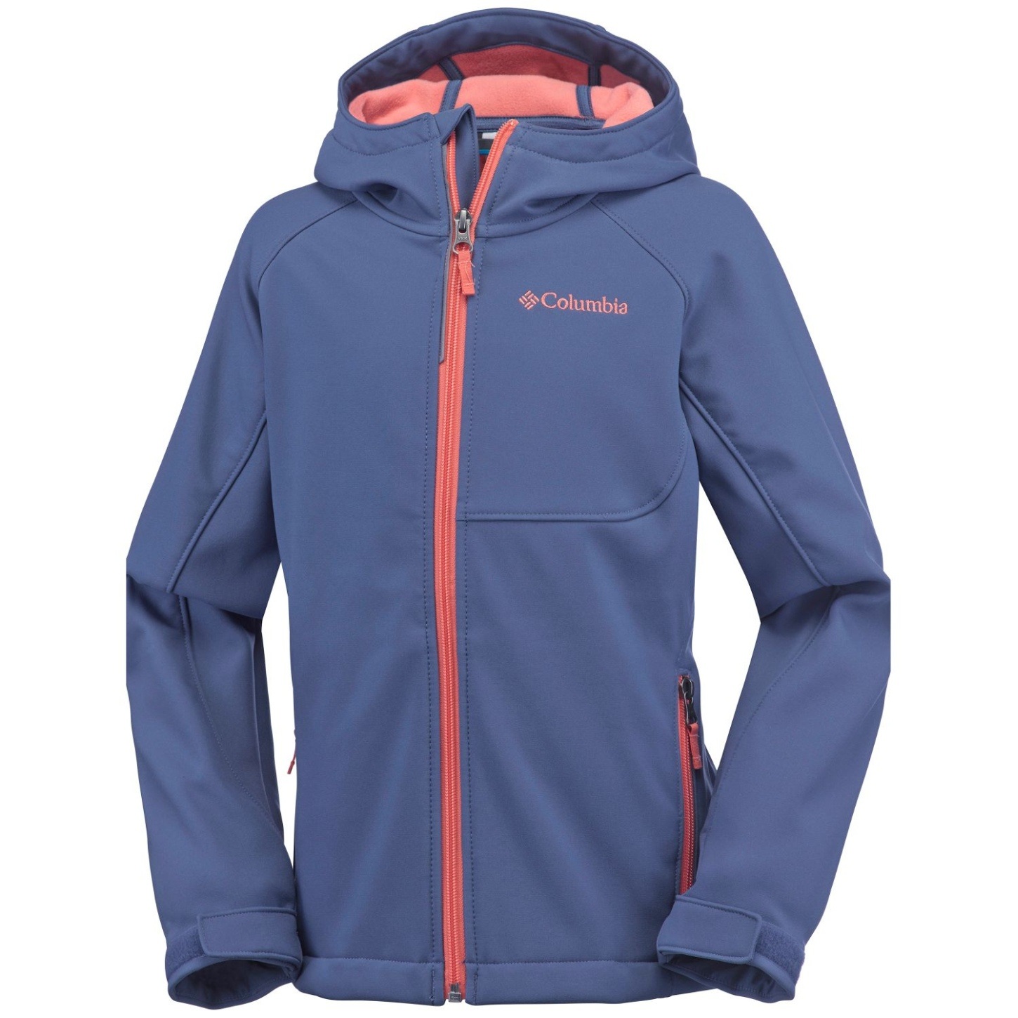 Columbia Boy's Cascade Ridge Softshell Bluebell-30