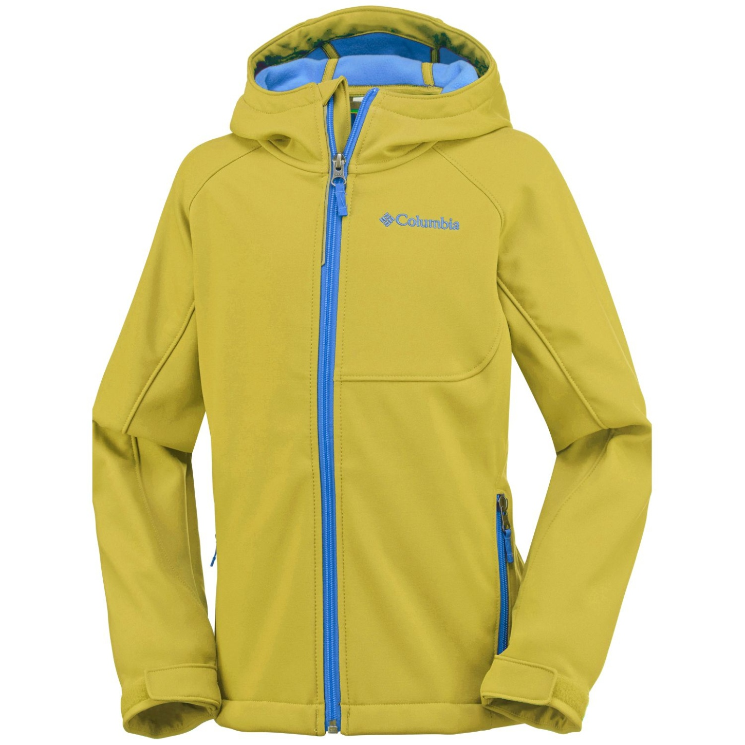 Columbia Boy's Cascade Ridge Softshell Mineral Yellow-30