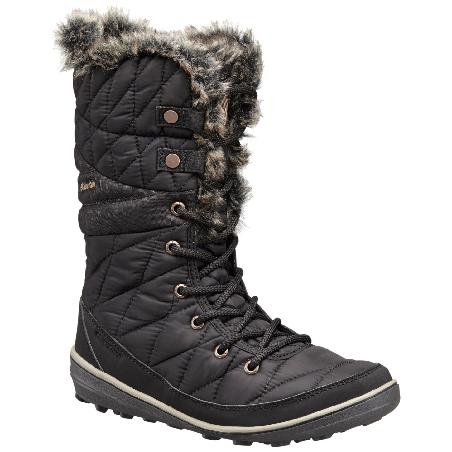 Columbia Women's Heavenly Omni-heat Winter Boots Black, Kettle-30