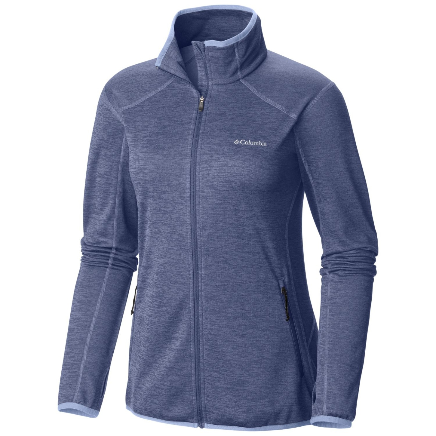 Columbia Women's Sapphire Trail Full Zip Fleece Bluebell-30
