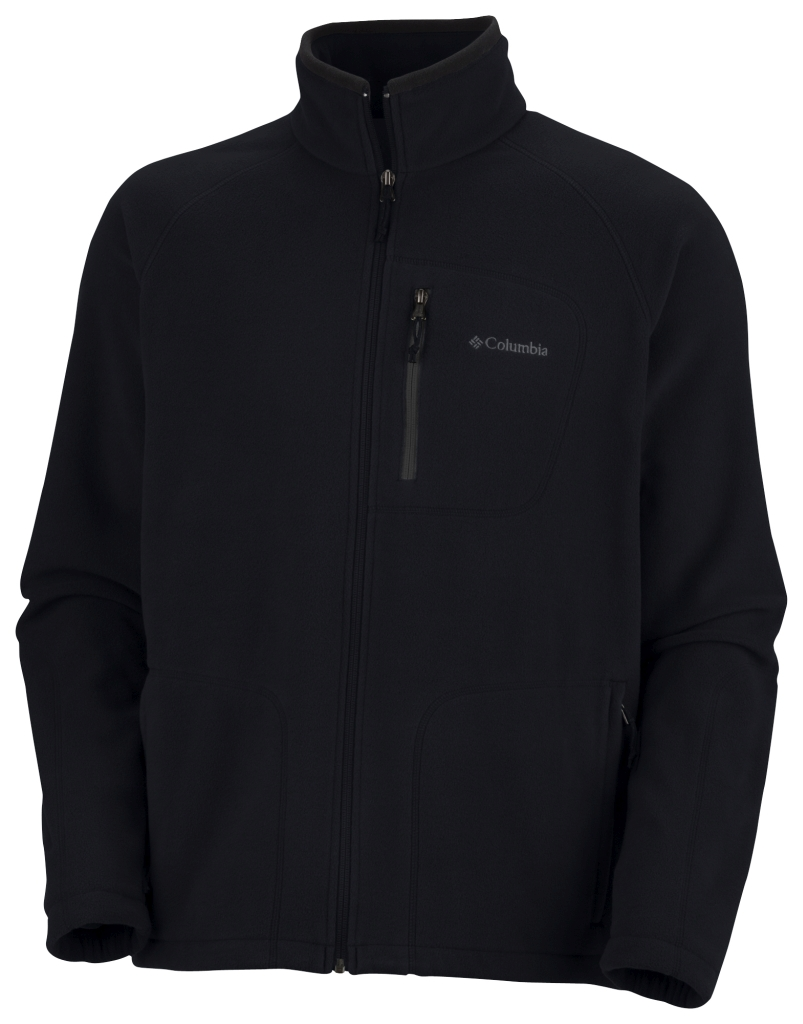 Columbia Men'S Fast Trek II Full Zip Fleece Black-30