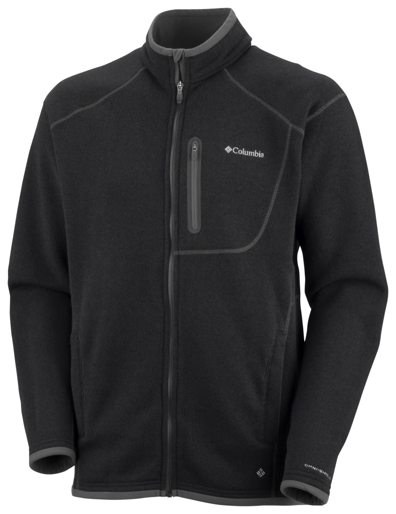 Columbia Men´s Altitude Aspect Full Zip Black Heather-30