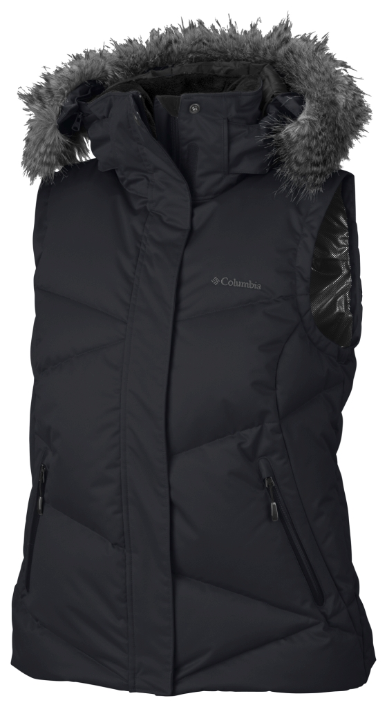 Columbia Women's Lay 'D' Down Vest Black-30