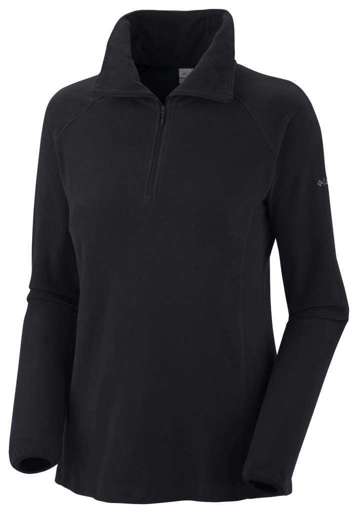 Columbia Women's Glacial Fleece III 1/2 Zip Black-30