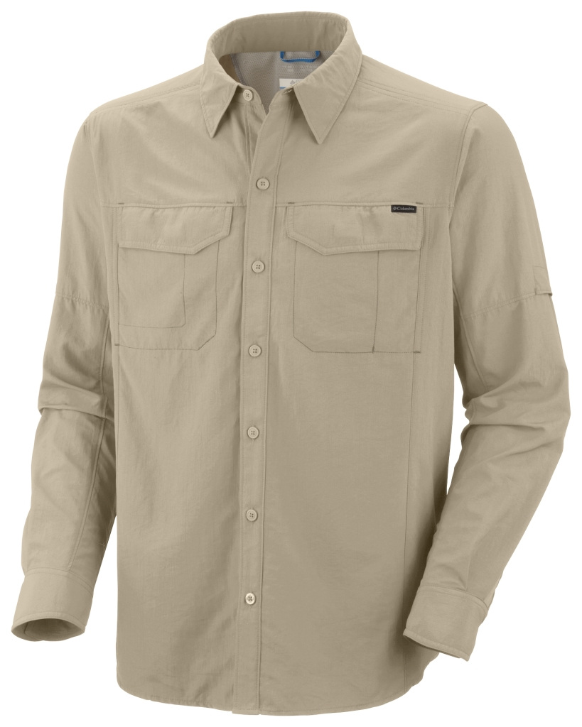 Columbia Men'S Silver Ridge Long Sleeve Shirt Fossil-30