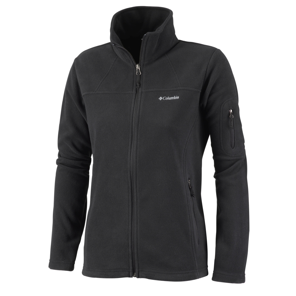 Columbia Women's Fast Trek II Jacket Black-30