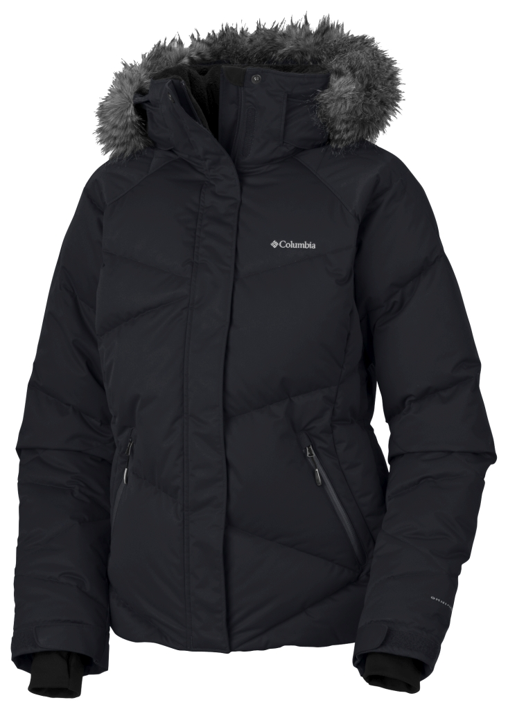 Columbia Women's Lay 'D' Down Jacket Black-30