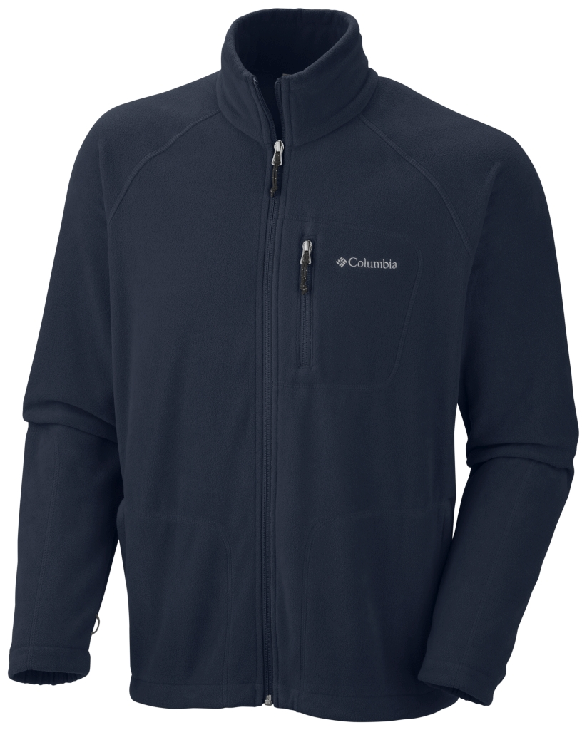 Columbia Men'S Fast Trek II Full Zip Fleece Abyss-30