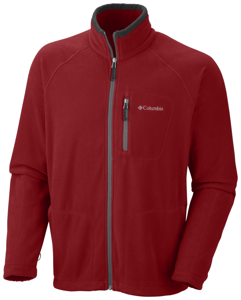 Columbia Men'S Fast Trek II Full Zip Fleece Rocket-30