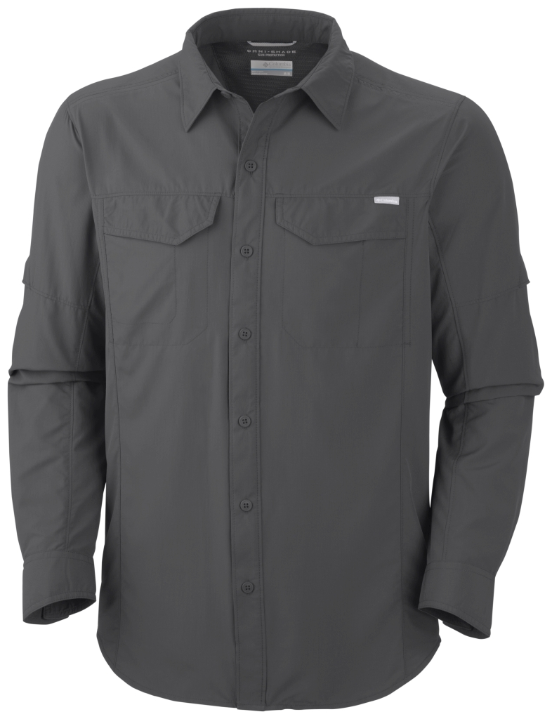 Columbia Men'S Silver Ridge Long Sleeve Shirt Grill-30