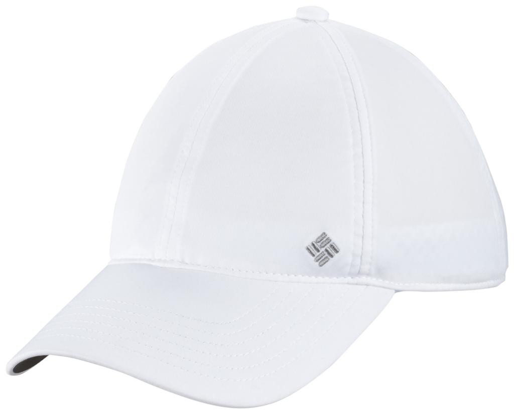 Columbia W Coolhead Ballcap White-30