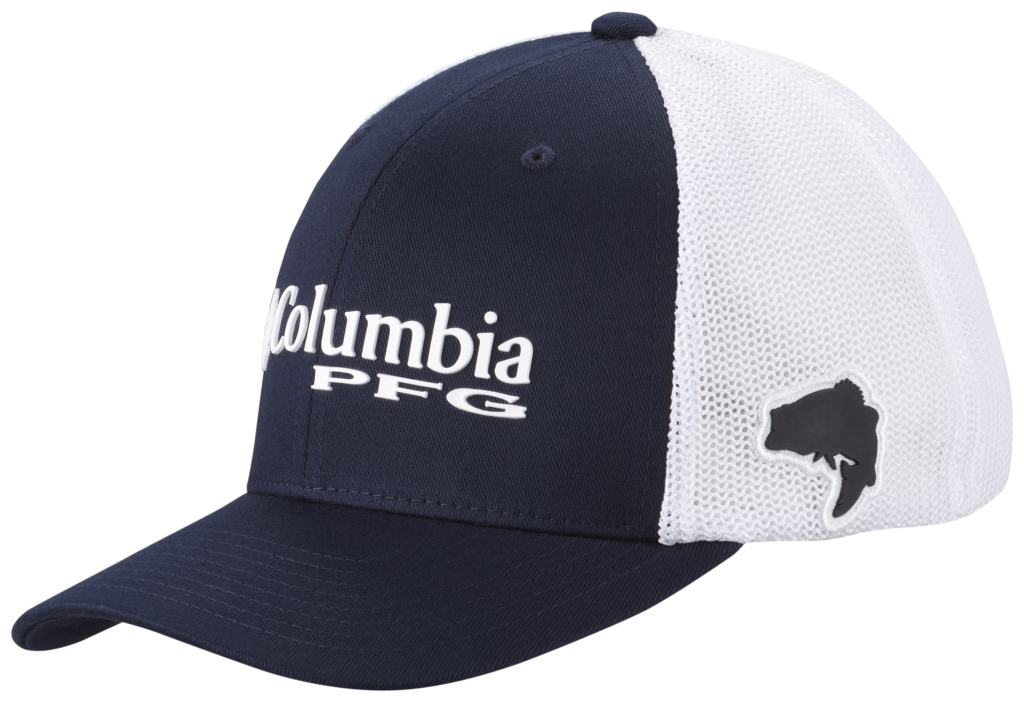 Columbia Pfg Mesh Ball Cap Collegiate Navy-30