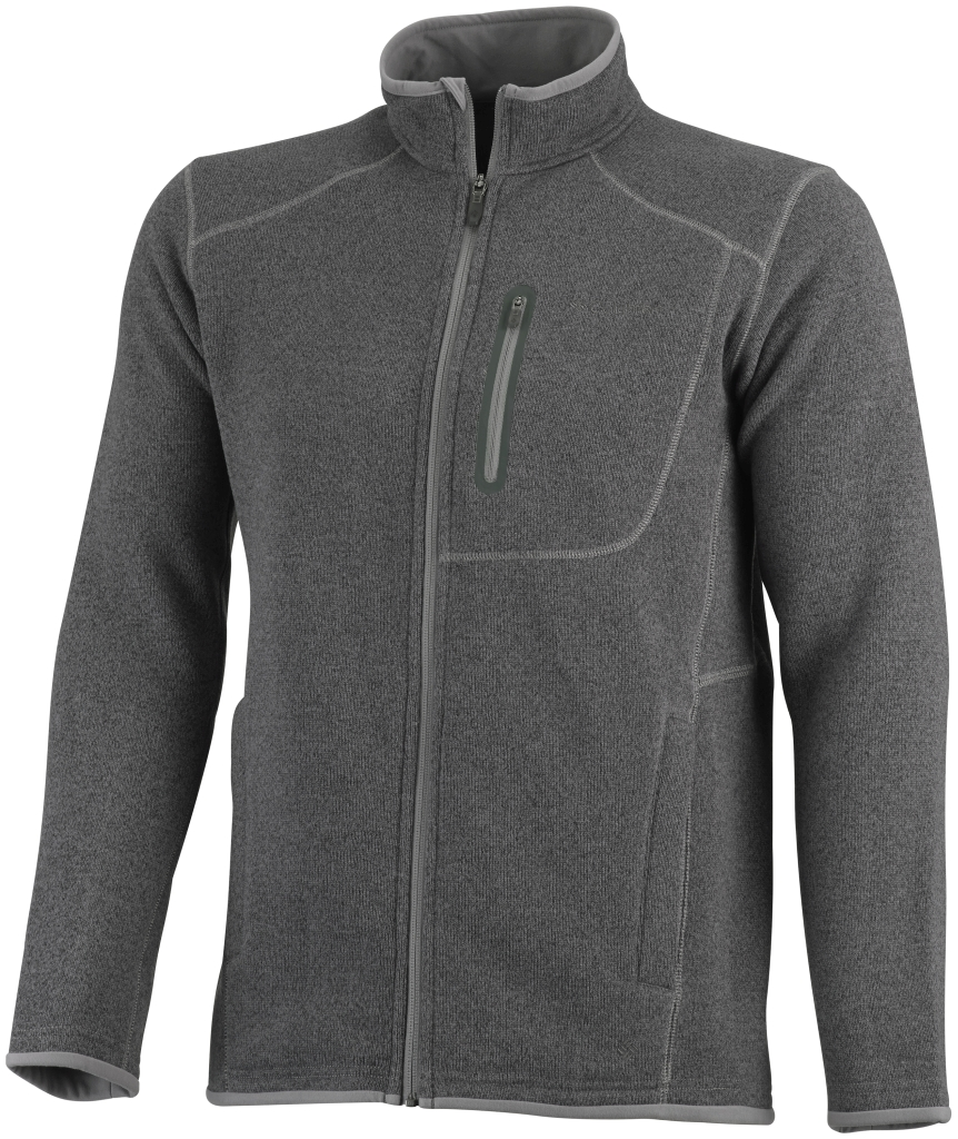 Columbia Men's Altitude Aspect Full Zip Boulder Heather-30