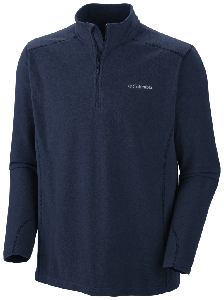Columbia Men's Klamath Range II ½ Zip Collegiate Navy (Legacy Twill)-30