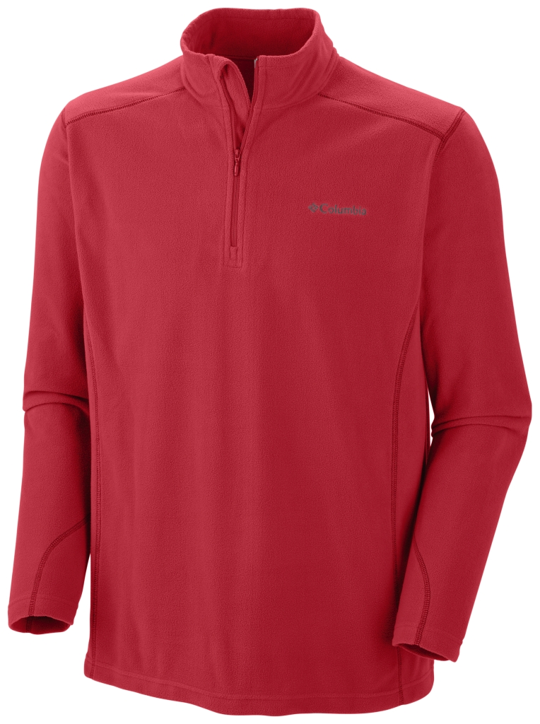 Columbia Men's Klamath Range II ½ Zip Bright Red-30
