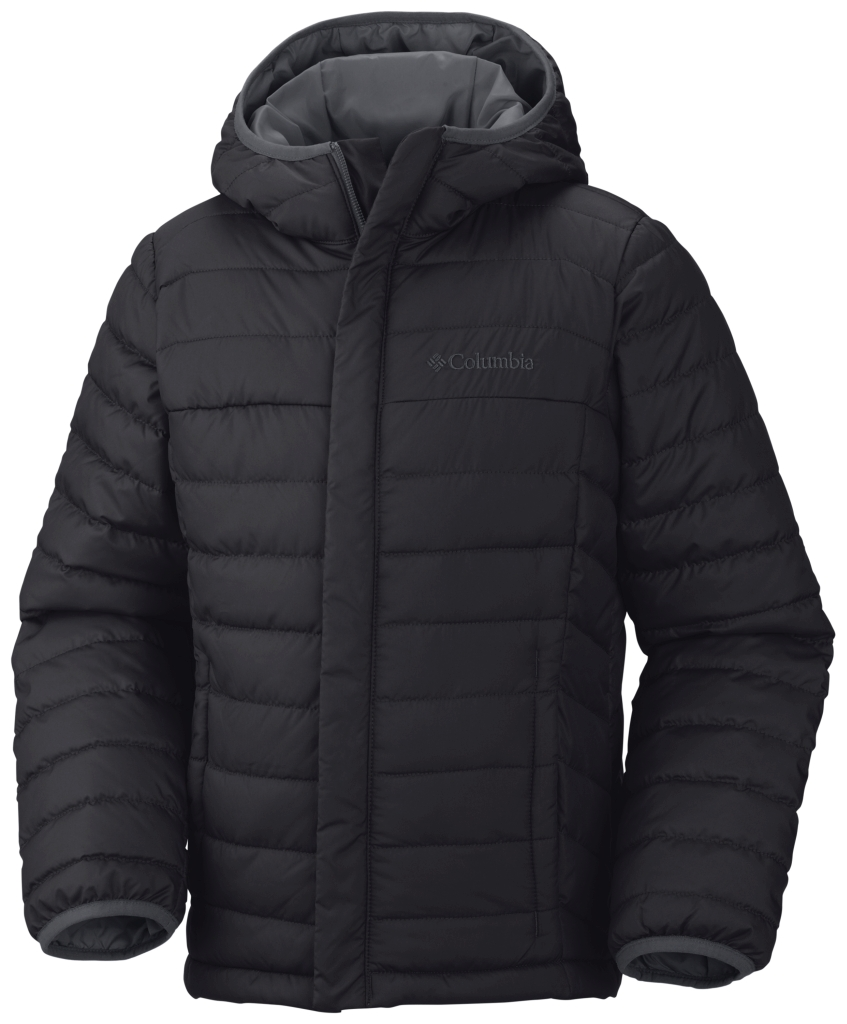 Columbia Powder Lite Isolationsjacke Für Jungen Black-30