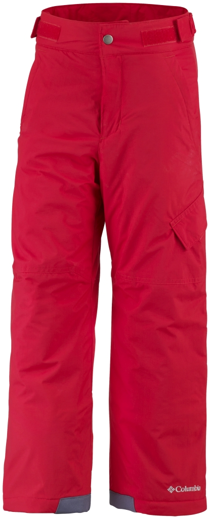 Columbia Boys' Ice Slope II Pant Bright Red-30