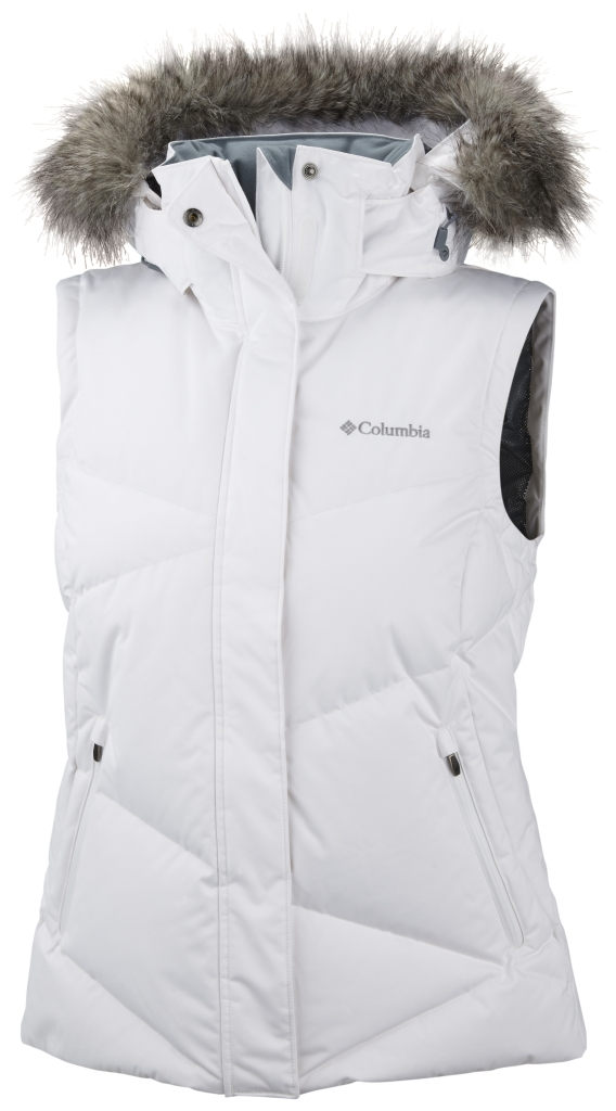 Columbia Lay 'D' Down Weste Für Damen White-30