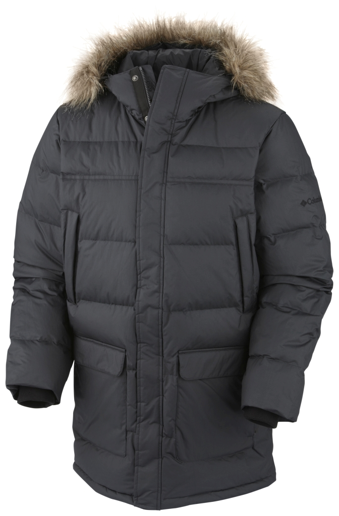 Columbia Men´s Portage Glacier III Down Long Jacket Black-30