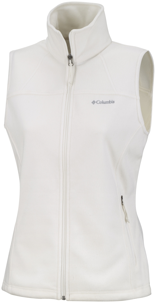 Columbia Women's Fast Trek Fleece Vest Sea Salt-30