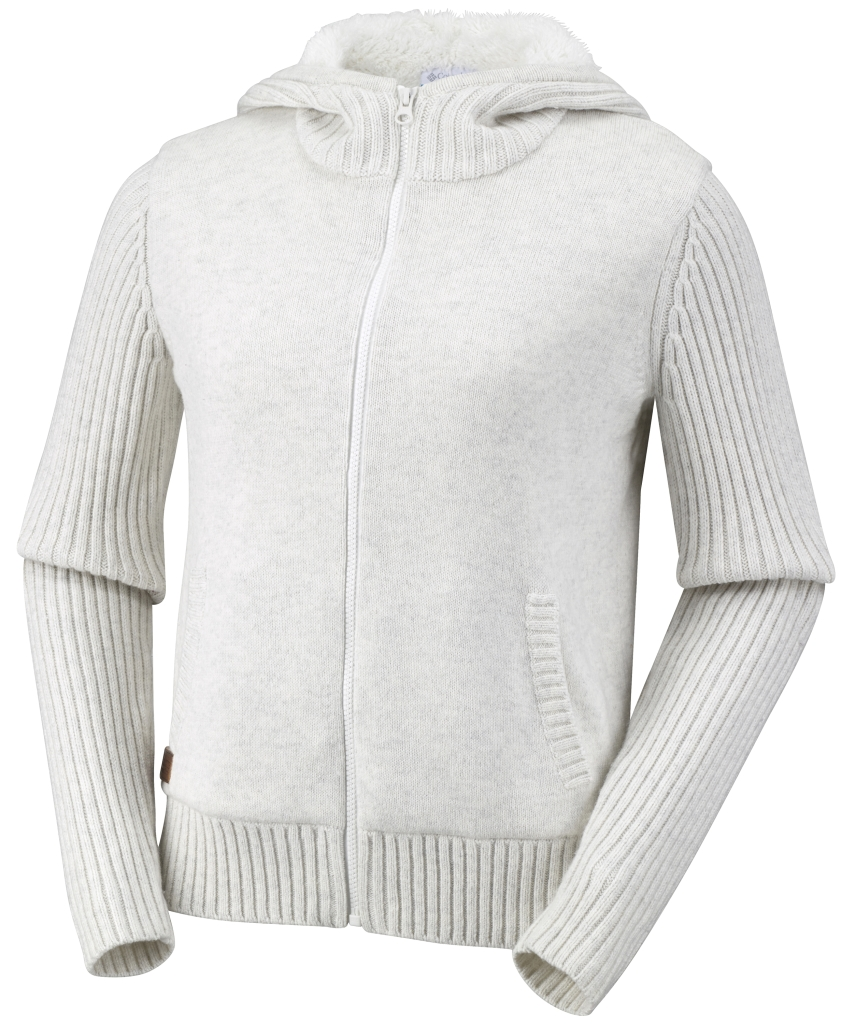 Columbia Women's She Pines For Alpine Hooded Sweater Sea Salt-30