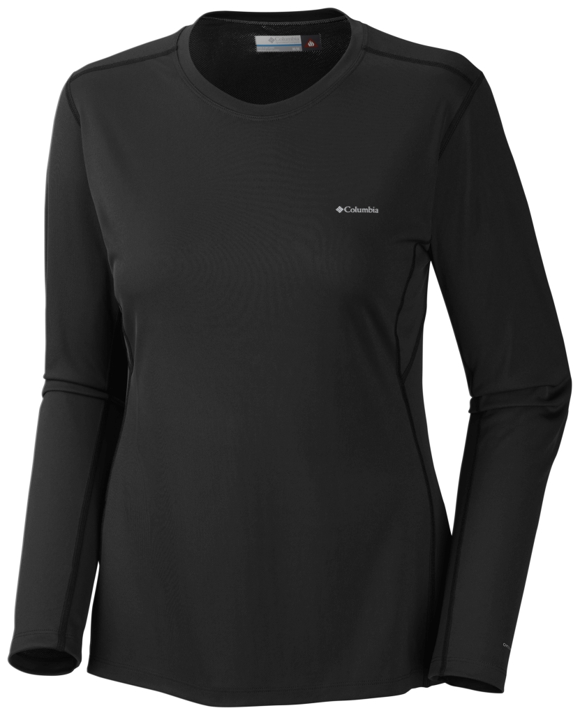 Columbia Women´s Midweight II Long Sleeve Top Black-30