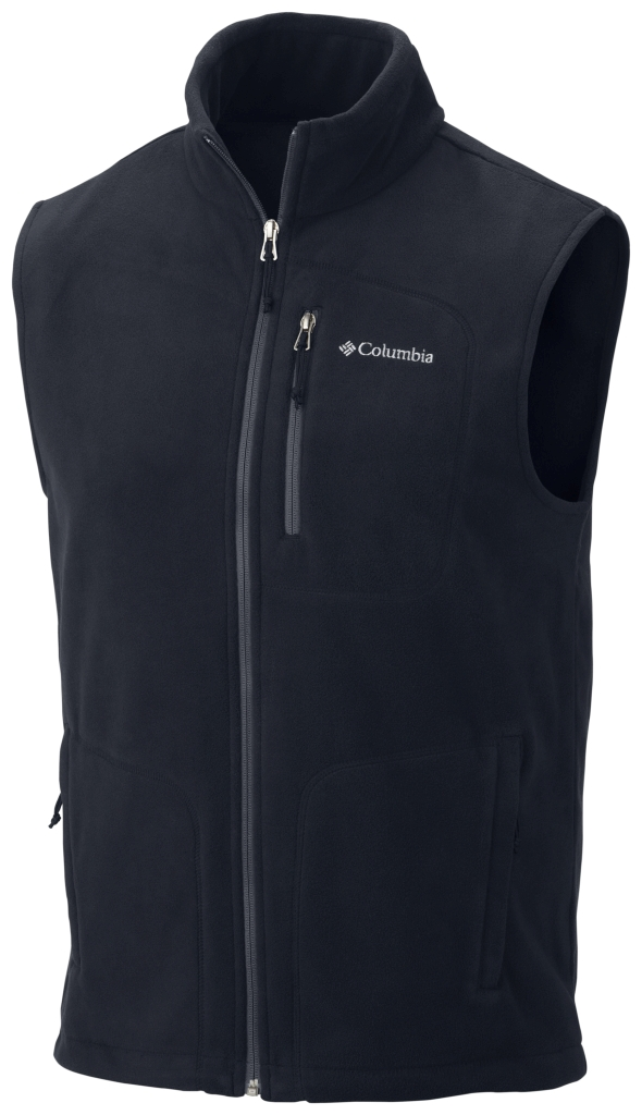 Columbia Men's Fast Trek Fleece Vest Abyss-30