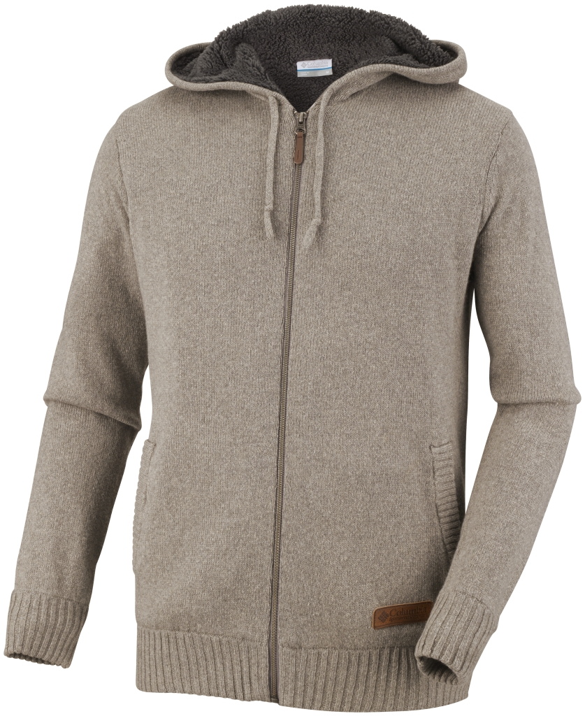 Columbia Men's Rotifer III Full Zip Sweater Boulder-30