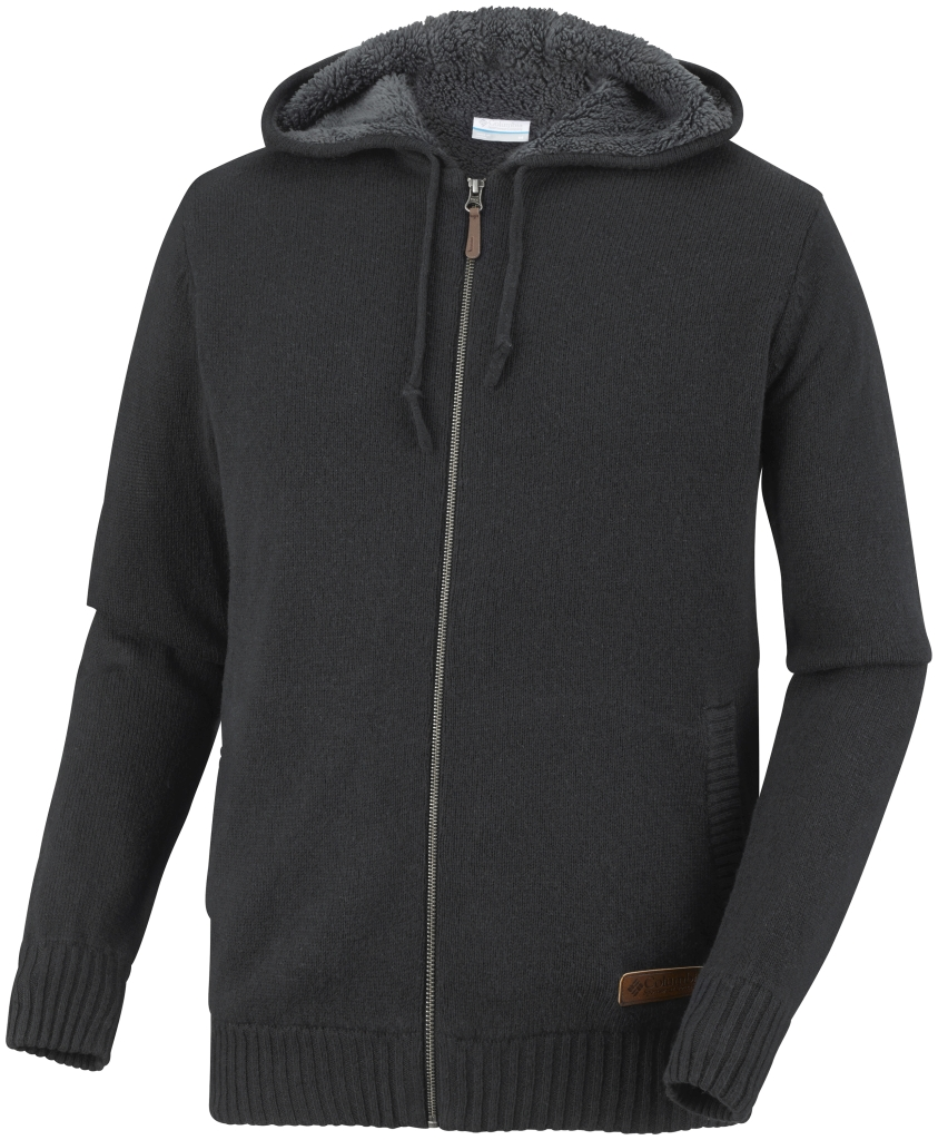 Columbia Men's Rotifer III Full Zip Sweater Black-30