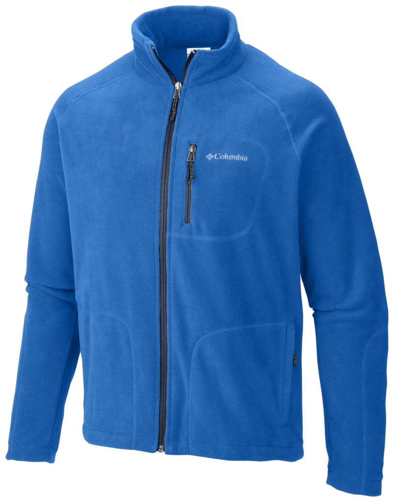Columbia Men'S Fast Trek II Full Zip Fleece Hyper Blue-30