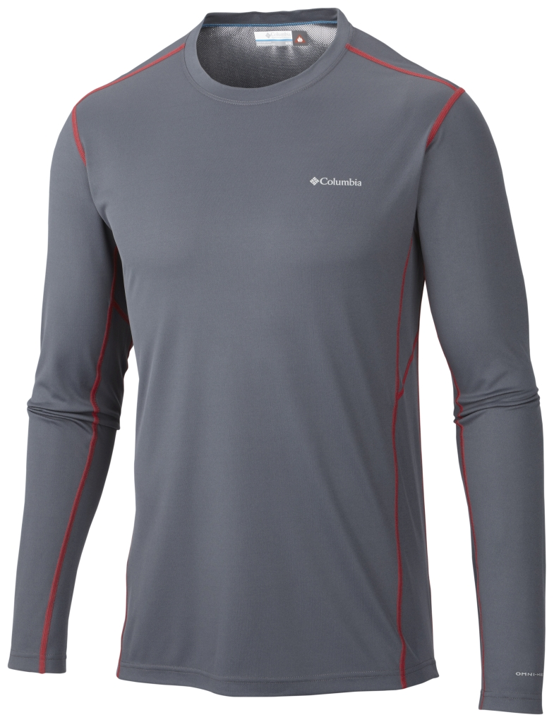 Columbia Men´s Midweight II Long Sleeve Top Graphite-30