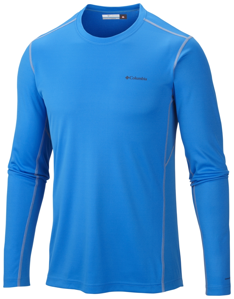 Columbia Men´s Midweight II Long Sleeve Top Hyper Blue-30