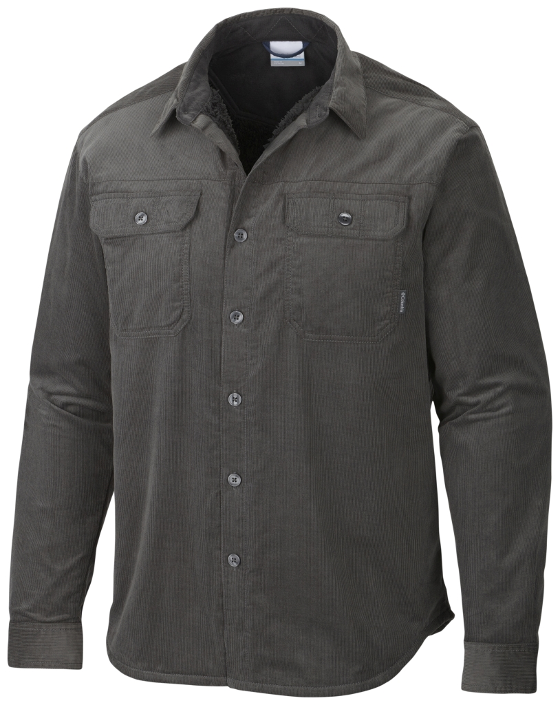 Columbia Men's Windward III Overshirt Grill Corduroy-30