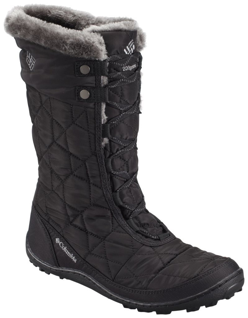 Columbia Women's Minx Mid II Omni-Heat Boot Black Charcoal-30