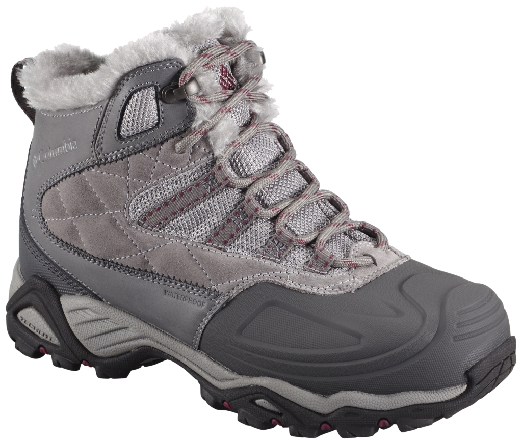 Columbia Women´s Silcox II Waterproof Omni-Heat Shale Dark Raspberry-30
