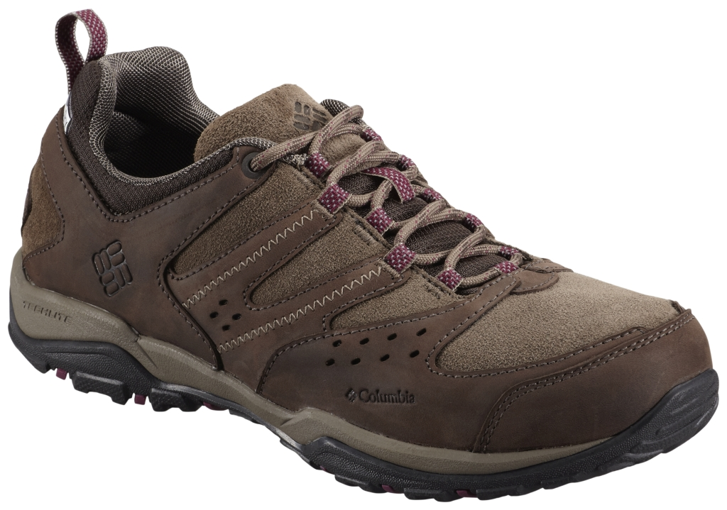 Columbia Women's Peakfreak Xcrsn Leather Outdry® Shoe 6 Cordovan Dark Raspberry-30