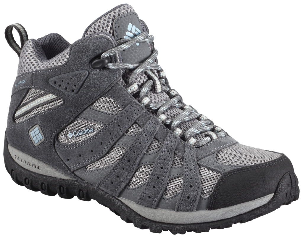 Columbia Women'S Redmond Mid Waterproof Light Grey Sky Blue-30