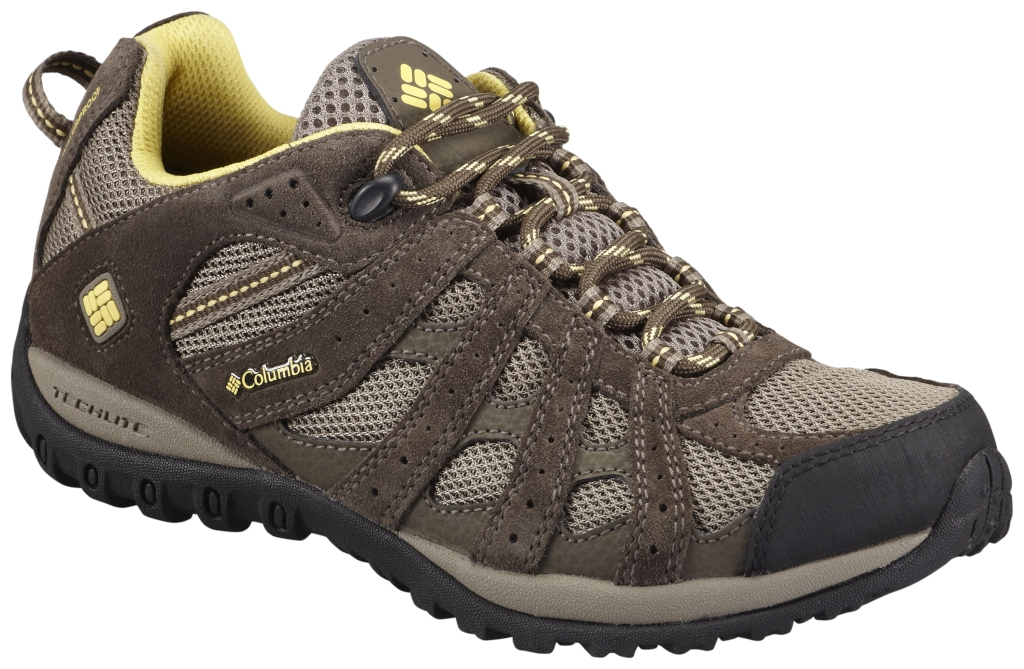 Columbia Women's Redmond Waterproof Low Hiking Shoe Pebble Sunlit-30