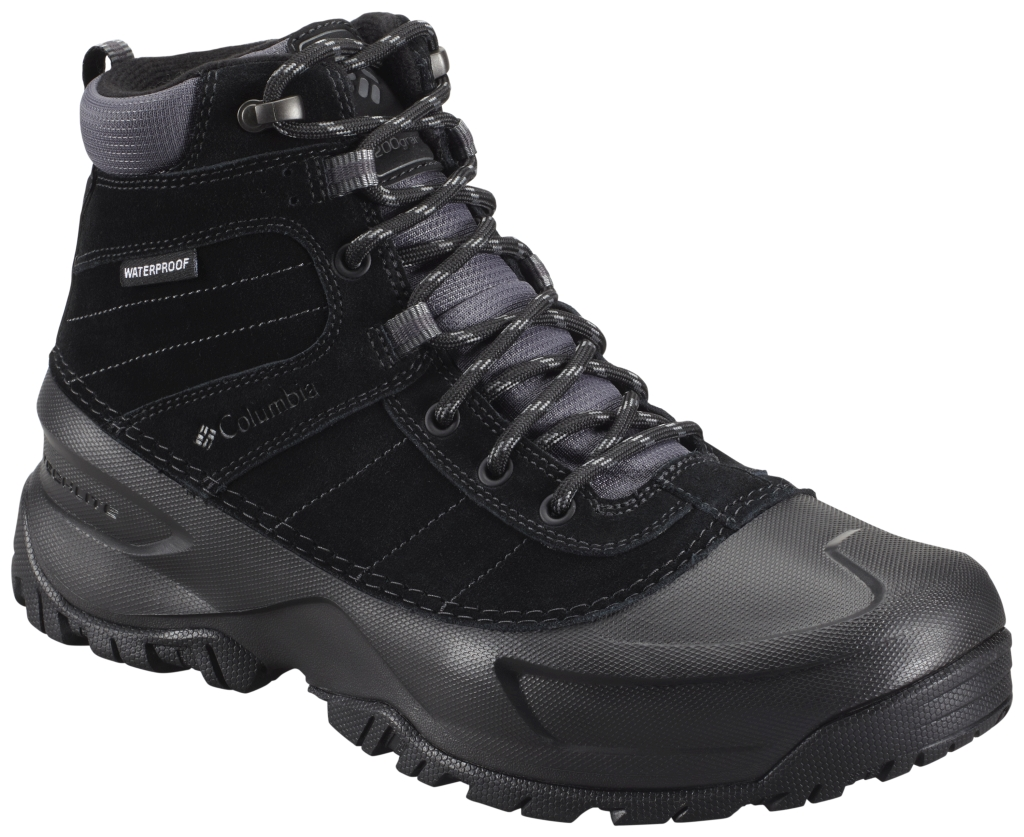 Columbia Men´s Snowblade Waterproof Boot Black Charcoal-30