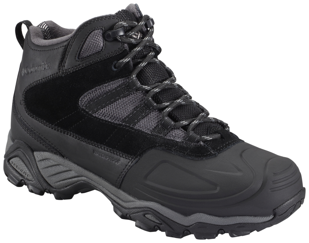 Columbia Men´s Silcox II Waterproof Omni-Heat Black Charcoal-30