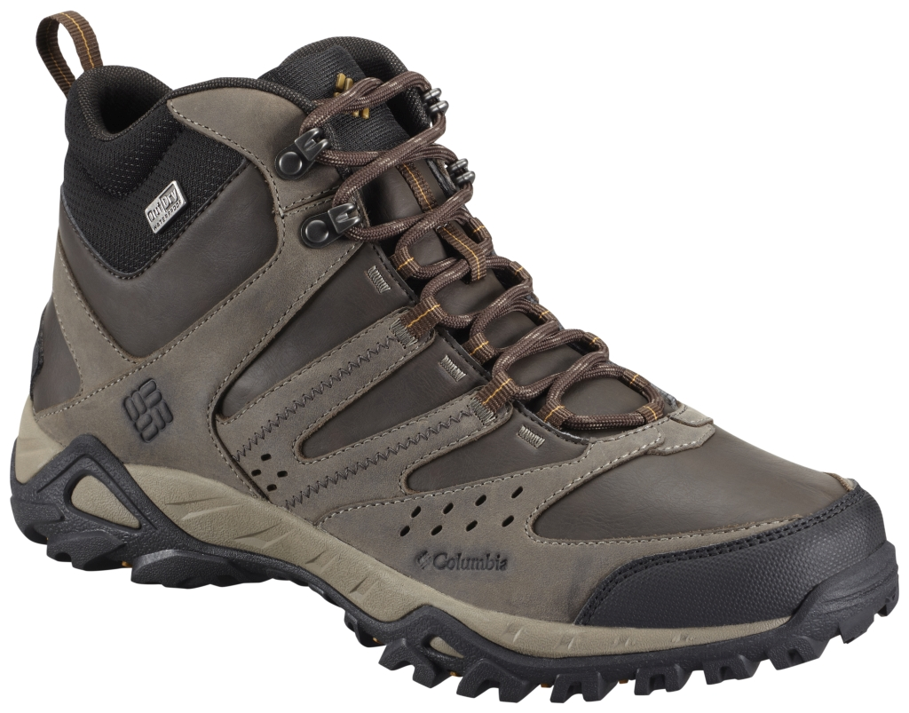 Columbia Men's Peakfreak Xcrsn Mid Leather Outdry Mud Caramel-30