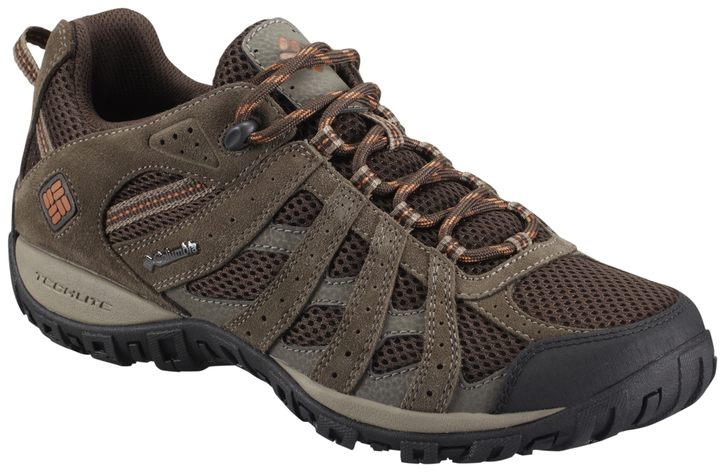 Columbia Men'S Redmond Low Hiking Shoe Cordovan Dark Ginger-30
