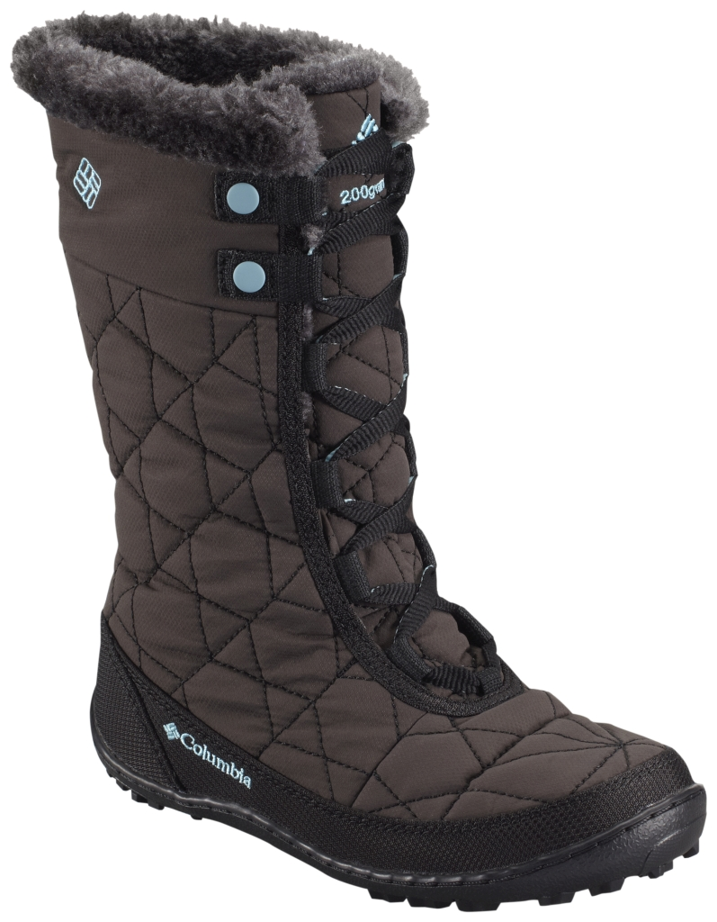 Columbia Youth Minx Mid II Waterproof Omni-Heat Black Iceberg-30