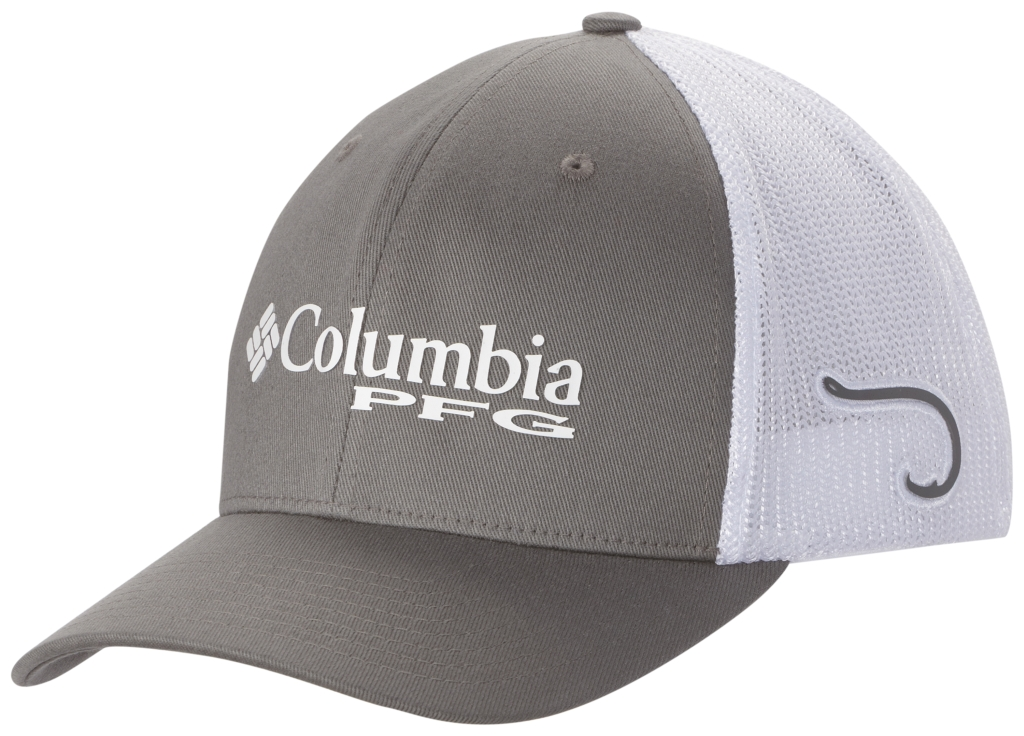 Columbia Pfg Mesh Ball Cap Titanium, Hook-30