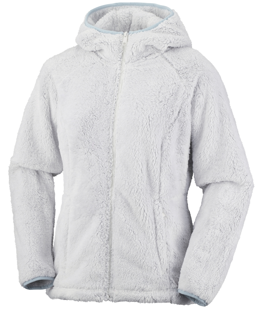 Columbia Eu Cozy Cove Fz Hoodie Sea Salt Double Plush-30
