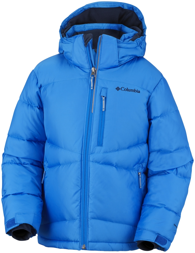 Columbia Boys' Space Heater II Jacket Hyper Blue-30