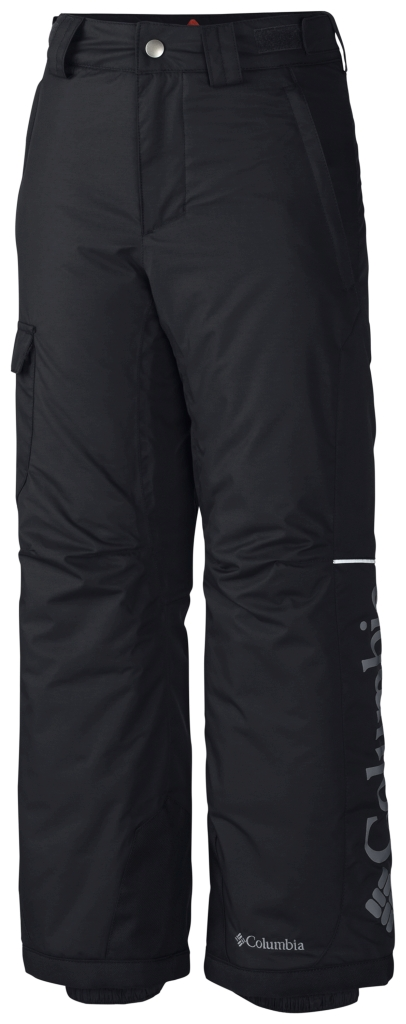 Columbia Boys' Bugaboo Pant Black Graphite-30