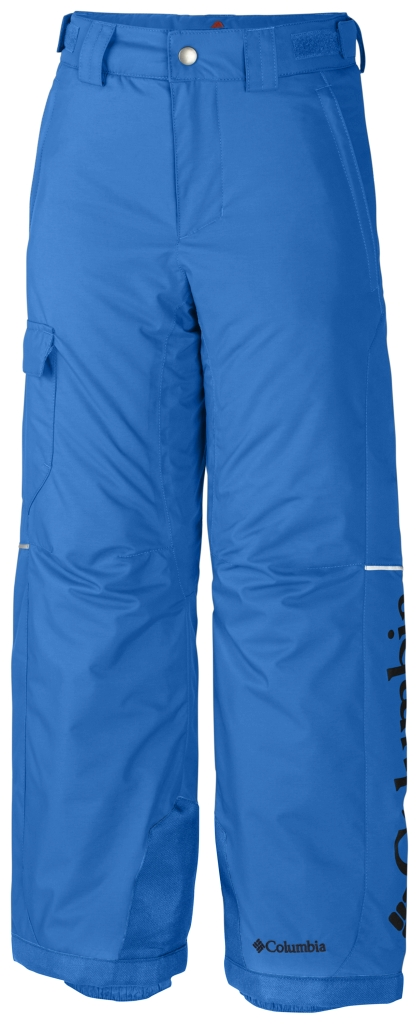 Columbia Boys' Bugaboo Pant Hyper Blue Collegiate Navy-30