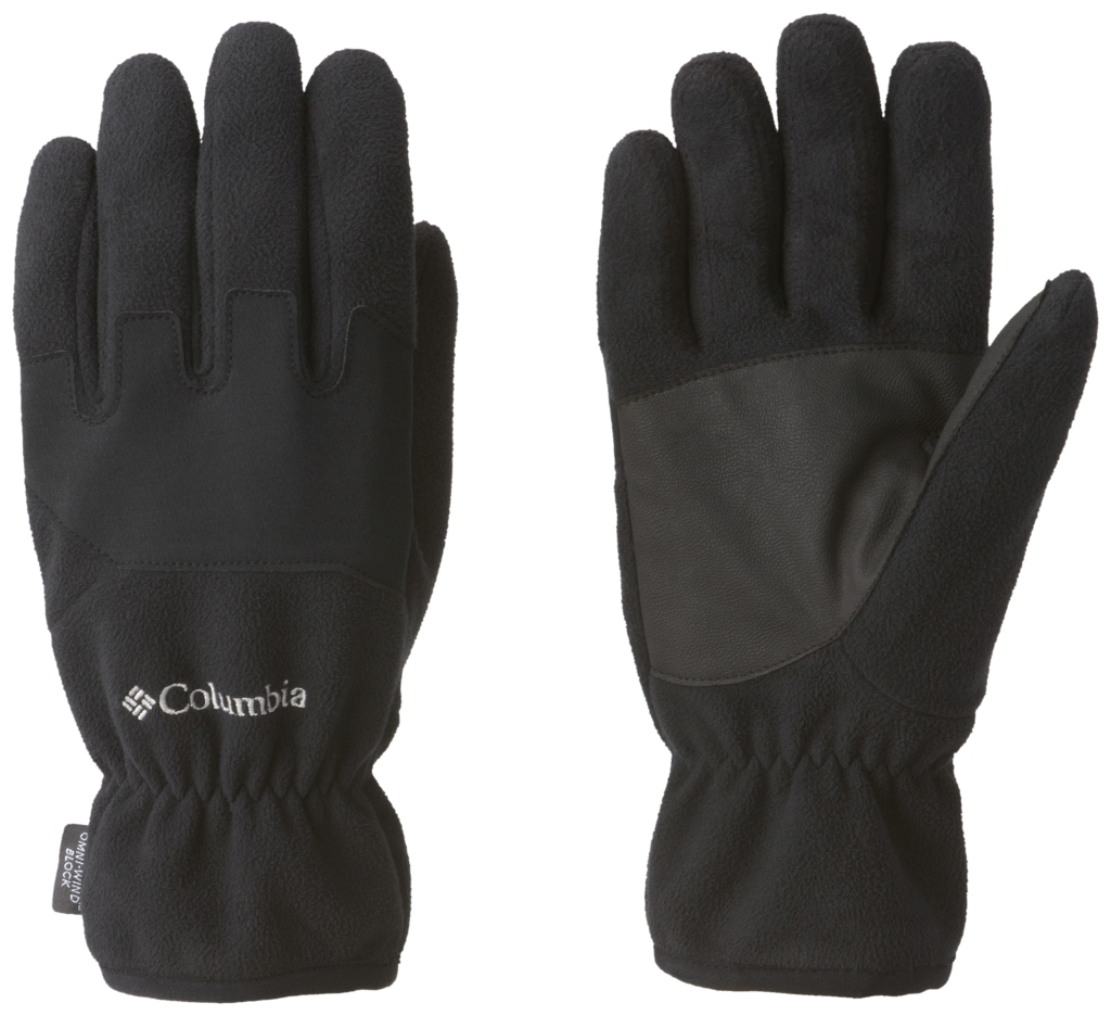Columbia Men's Wind Bloc Glove Black Black-30